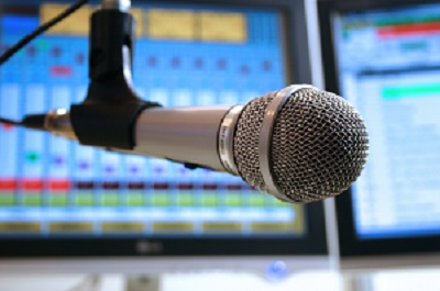 on air music sound tv radio studio microphone