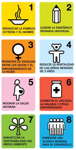 Objetivos Milenio ONU